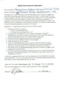 Health Care Consultant Agreement 2018